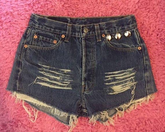 ed3374bb LEVI'S High Waisted Shorts Vintage levis High Waisted | Etsy