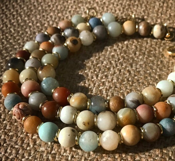 Amazonite Stacks of Bracelets