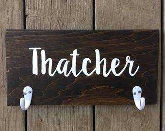 Farmhouse Decor - Rustic Decor - Wood Sign - Hand Lettered Sign - Hand Painted Sign - Farmhouse Wood Sign - Rustic Wood Sign - Name Sign