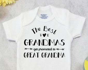 Grandmother Onesie Etsy
