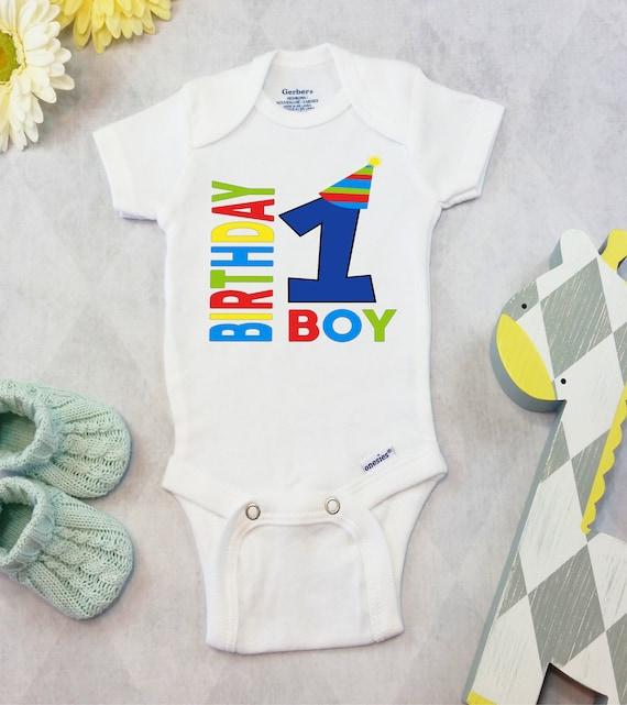 First Birthday Boy OnesiesR Brand Or CartersR Bodysuit