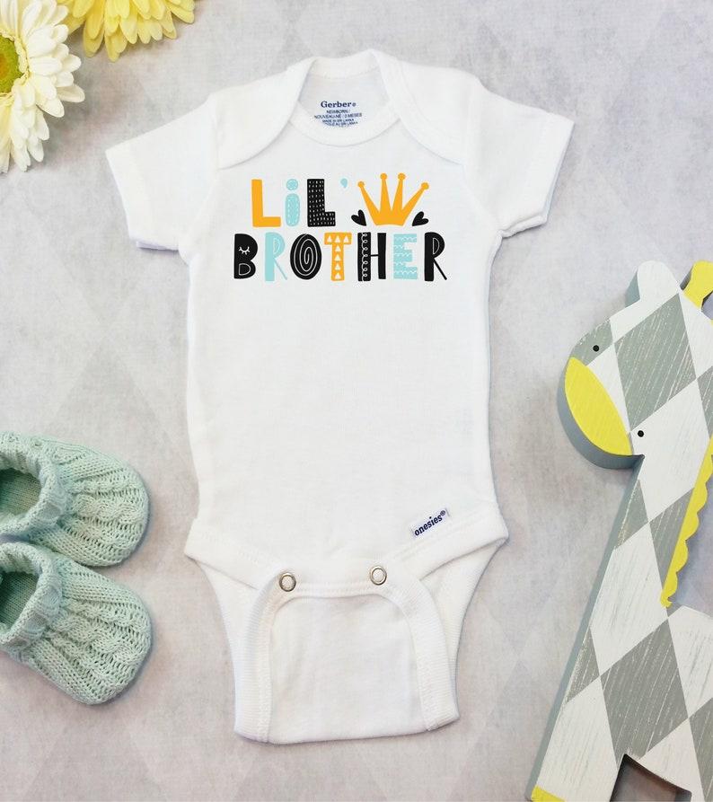 7fe75381d Little Brother Onesies® Brand or Carter's® Bodysuit | Etsy