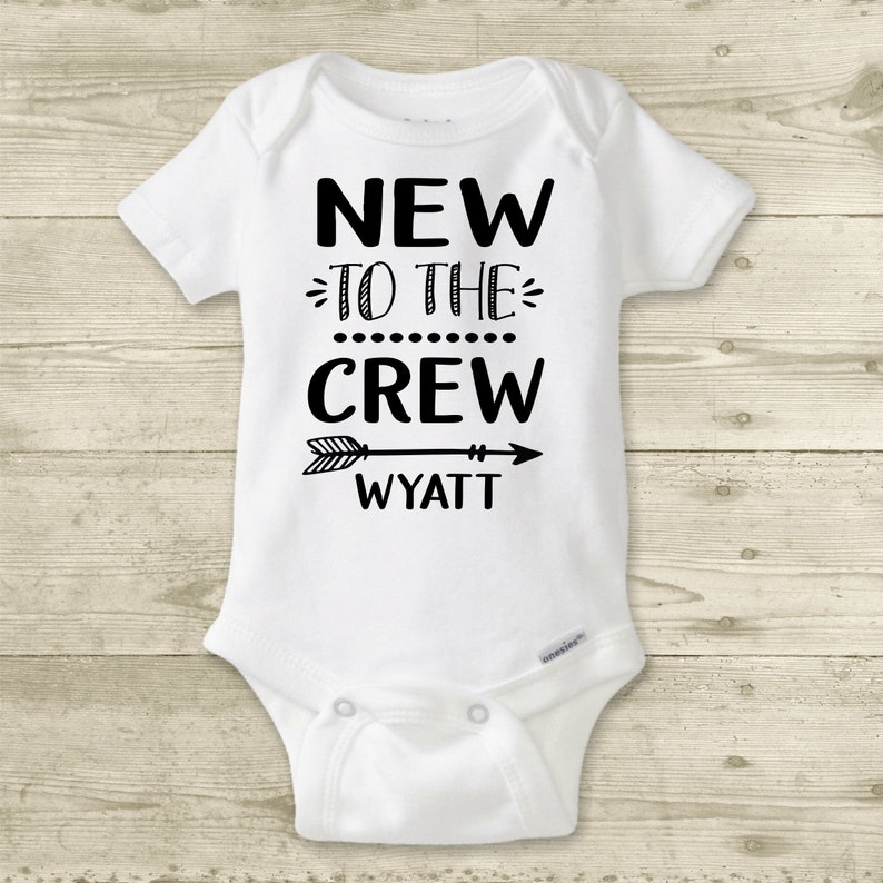 9dc225c94cab Personalized Baby Name Onesies® Brand or Carter's Bodysuit | Etsy