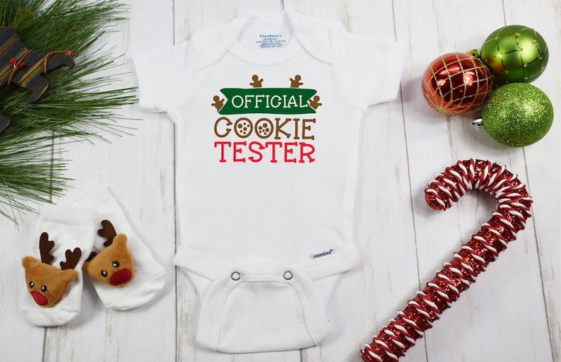 8a317db61c8a Funny Christmas Onesies® Brand or Carter's® Bodysuit | Etsy
