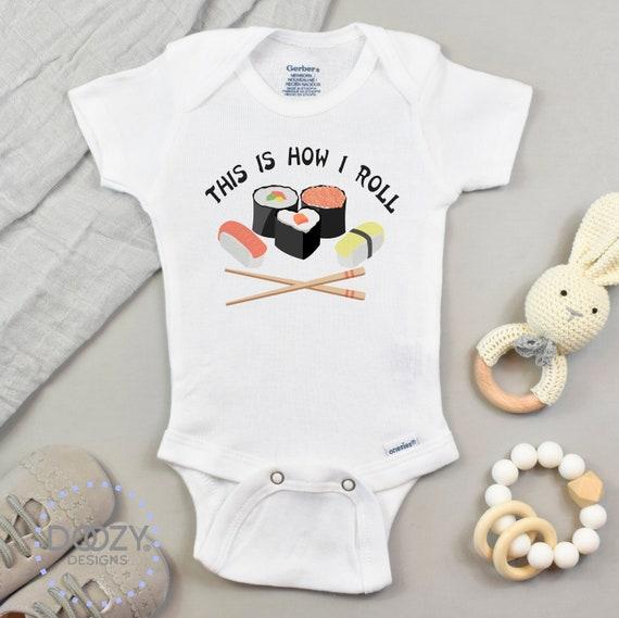 School Of Goldfish Onesie Gender Neutral Baby Shower Gift Unique Baby Bodysuit
