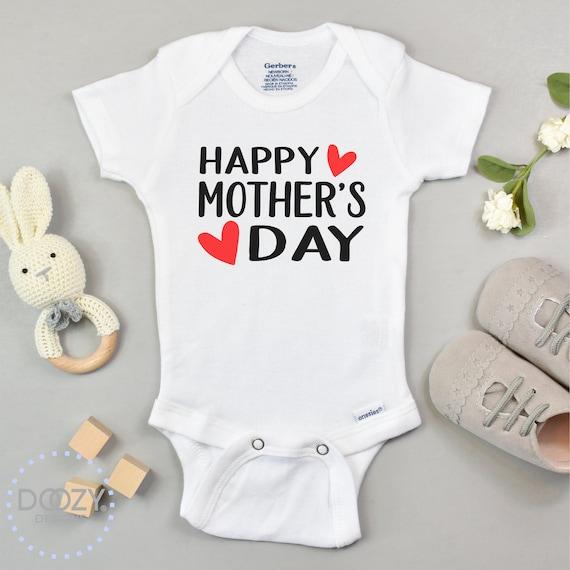 Personalized Onesie\u00ae Happy Mothers Day Onesie\u00ae