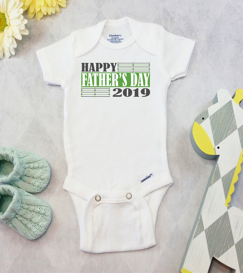 6d01f0c3c Fathers Day Onesies® Brand or Carter's® Bodysuit | Etsy