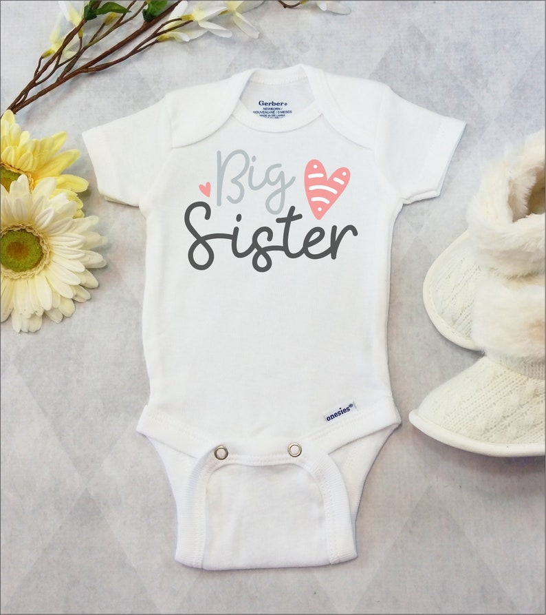 578a52025 Big Sister Onesies® Brand Carter's® Bodysuit or Tshirt | Etsy
