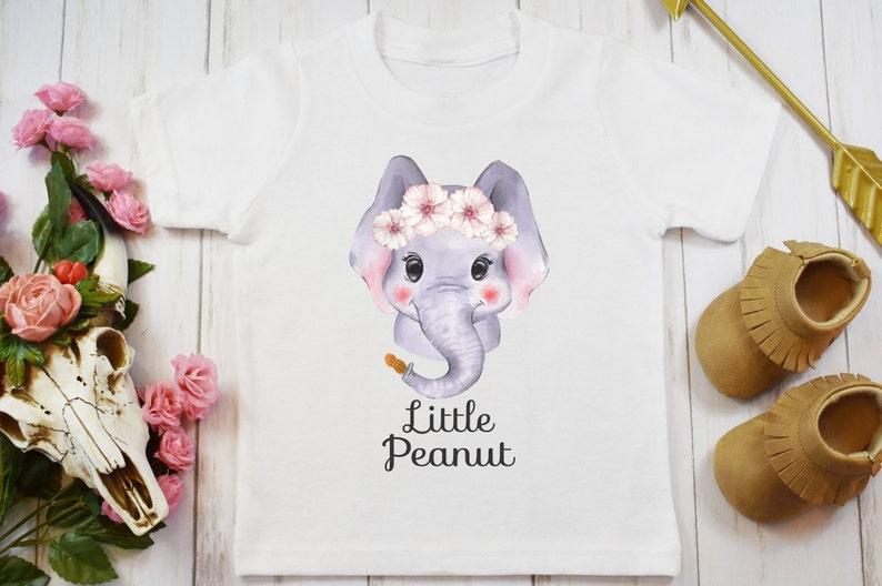 affa25c86 Little Peanut Onesie® or Carter's® Brand Elephant Onesie   Etsy