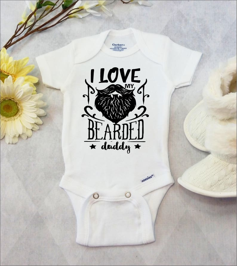 0450186c143b9 Barbe Onesies® marque ou Carter® Body barbe chemise bebe