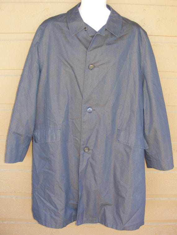 b27187324ef SEARS All-Weather Coat Jacket Size 42 Vintage