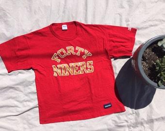1e25b3ca64c San Francisco 49ers Retro Starter Shirt