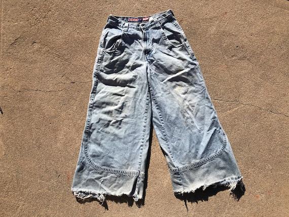 Vtg 90s JNCO Kangaroo Faded Demin Jeans