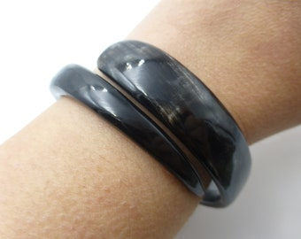 Great for Stacking Rare and Early Piece Circa 1890s Rare Antique Victorian Snake Bangle Amazing Symbol of Love