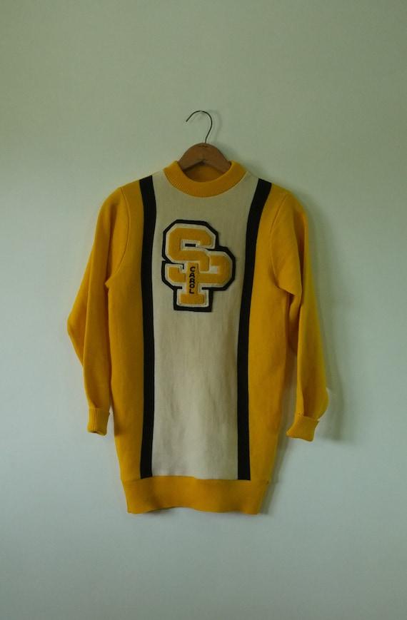 vintage varsity sweater   vintage 1950s college s… - image 7