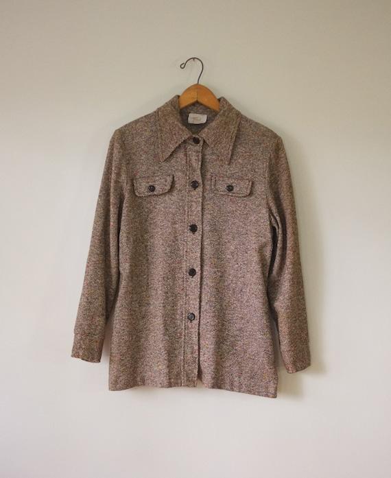 vintage 1970s shirt jacket | vintage lightweight … - image 6