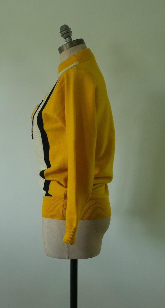 vintage varsity sweater | vintage 1950s college s… - image 6