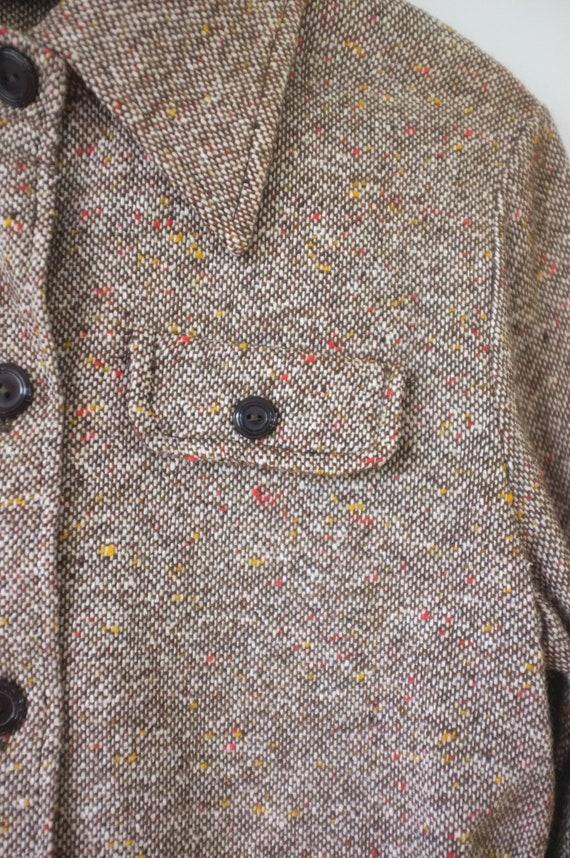 vintage 1970s shirt jacket | vintage lightweight … - image 8