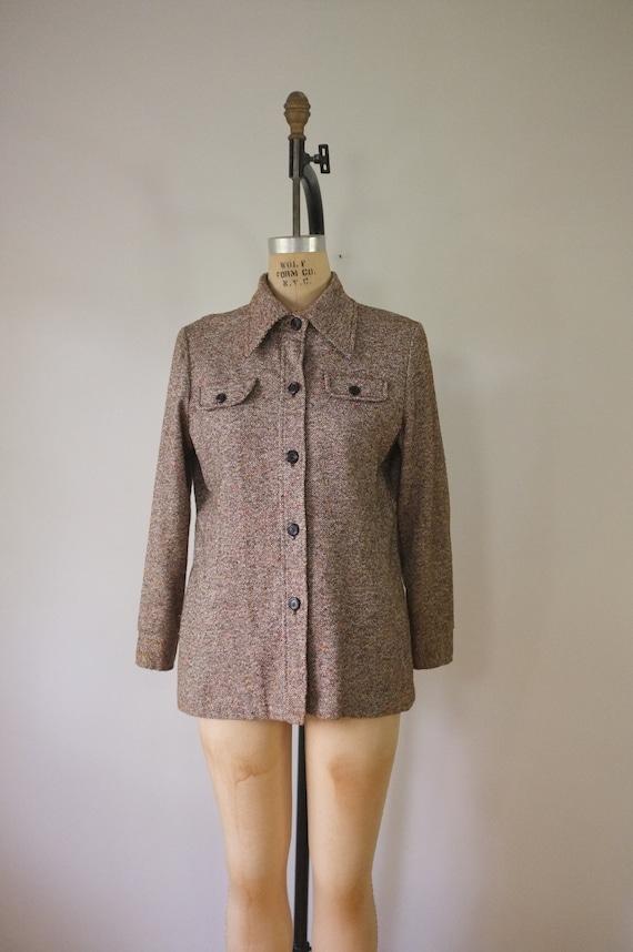 vintage 1970s shirt jacket | vintage lightweight … - image 2