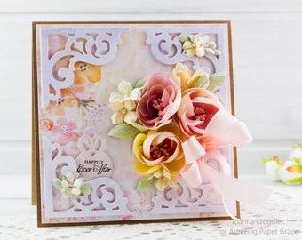 Wedding Day Card, Anniversary Card, Card, Handmade Card, Homemade Card, Handgemacht