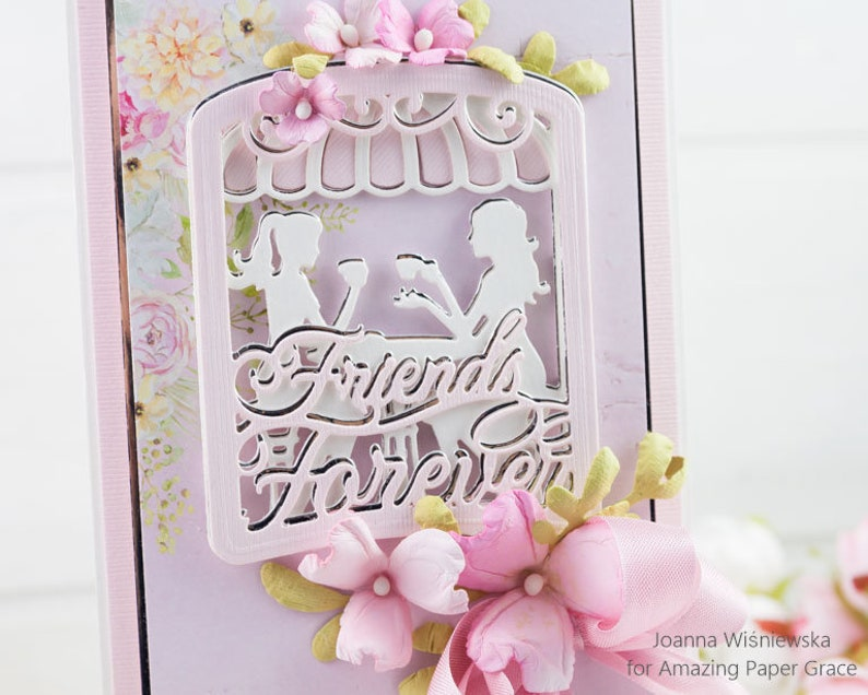 Best Friends Cards Handmade Card Happy Birthday Birthday Card for a Friend Homemade Card Birthday Card