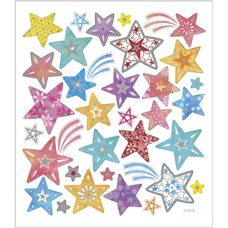 Kids 29128 BUTTERFLIES MIX  Glitter Foil Peel off Stickers Birthday Cards