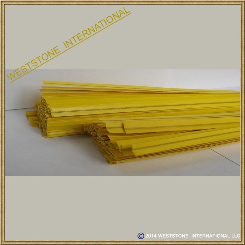 won/'t rip or pull off 1000pcs Bright Colorful PlasticPaper coated 4 x 14 or 7 x 14 Twist Ties