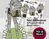 Paper Doll Armor- Digital...