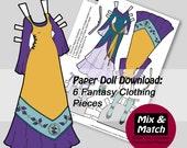 Fantasy Dolls Dresses- Fa...