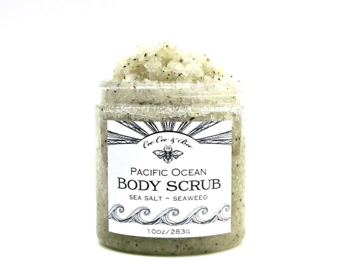 Pacific Ocean Sea Salt Body Scrub