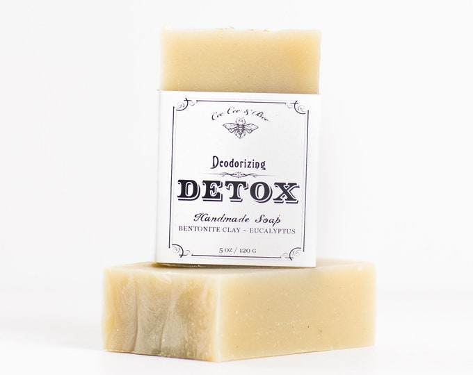 Deodorizing Detox Soap Bar 5oz