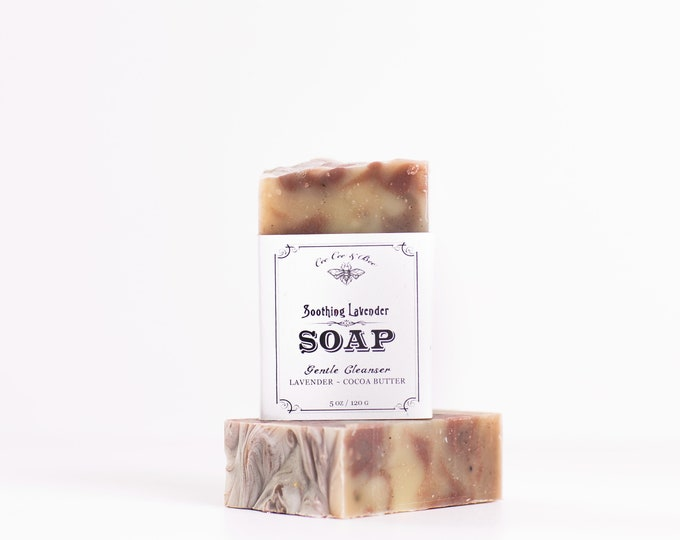 Lavender Handmade Soap Bar 5oz