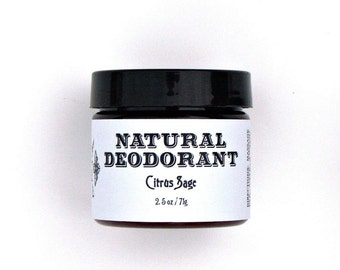 Citrus Sage Natural Deoderant proven to work!
