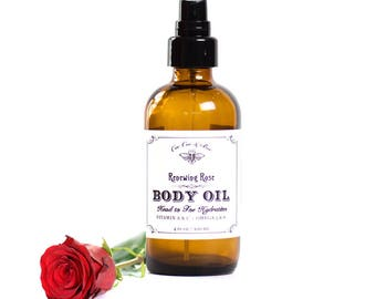 Renewing Rose Face and Body Oil with Rosehips