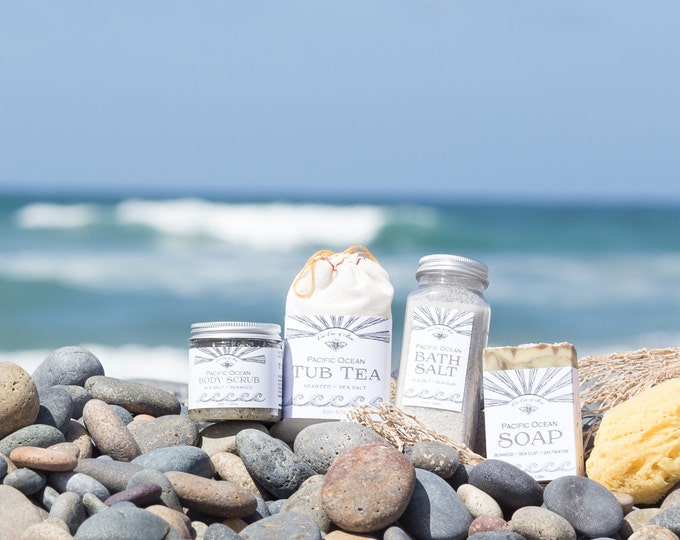 Pacific Ocean Gift Set ~ for the beach lover