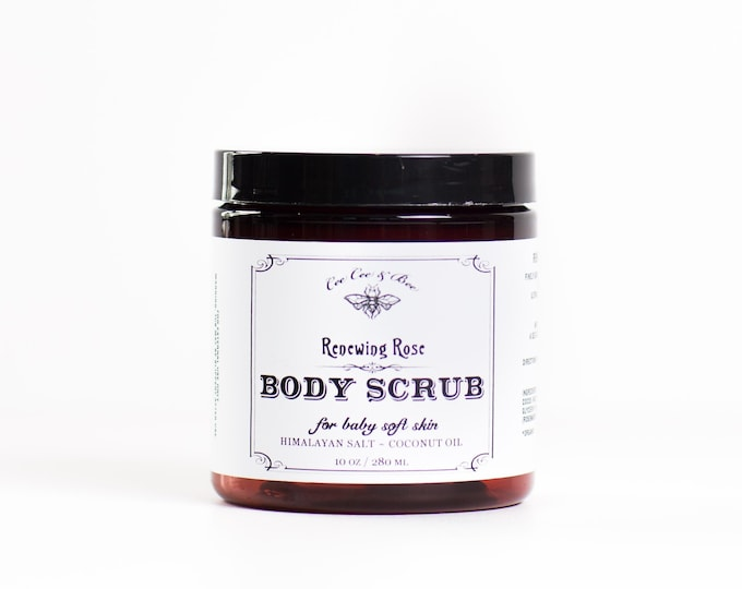 Rose Body Scrub 10oz