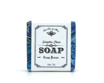 Ocean Breeze Simplee Cleen Fresh Guest Soap