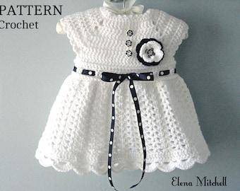 a169b801f Crochet baby dress
