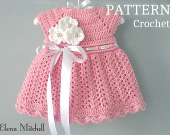 ec7f19ad6f16 Crochet baby dress