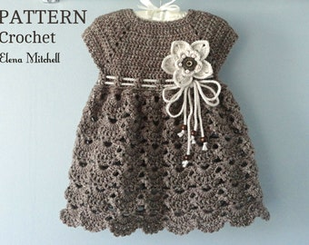 3b251ac4f28d Crochet baby dress