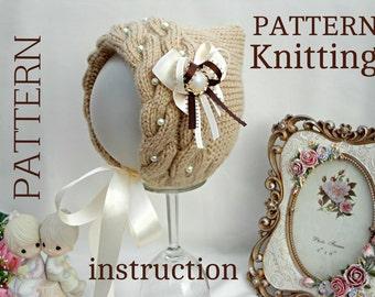 Knitting Pattern Knitting Baby Hat Baby Patterns Knitted