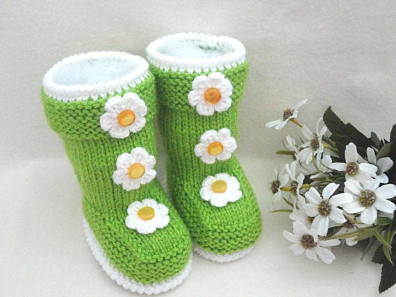 Knitting Pattern Baby Shoes Baby Booties Knitted Baby Booty Baby