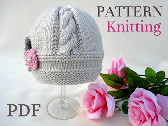 Baby Hat P A T T E R N Knitting Baby Hat Baby Patterns Etsy
