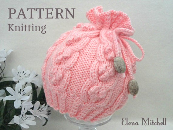 Knitting PATTERN Baby Hat Baby Beanie Pattern Baby Cap Knitted  887b8e6d071