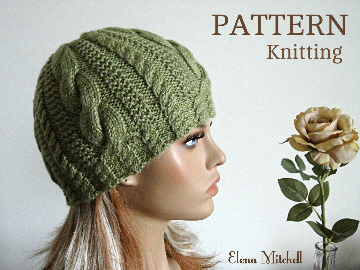 Knitting PATTERN Girls Beanie Women Hat Accessories Children Hat ...