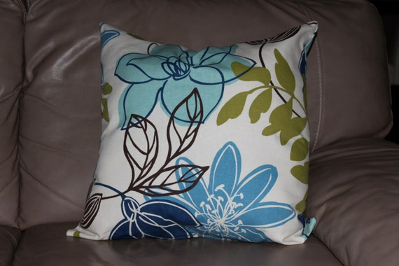 Decorative Pillow Cover Magnolia Home Fashion Monaco Breeze 18 Etsy