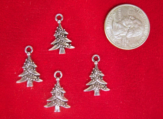 30pc dollar sign charms in antique silver style BULK BC390B