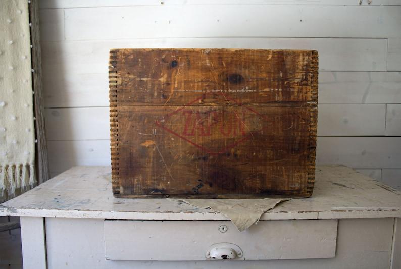 Antyczna Drewniana Skrzynka Archiwalna Zapon Crate Dekoracja ślubna Skrzynka Wystroju Wnętrz Prostokątna Antyczna Drewniana Skrzynia