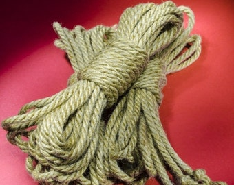 Jute Rope Kit for Shibari / Kinbaku - Natural