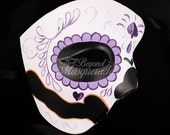 Day of the Dead Wedding, Day of the Dead Mask, Dia de los Muertos Mask, Masquerade Mask for Festivals, Celebrations and Remembrance